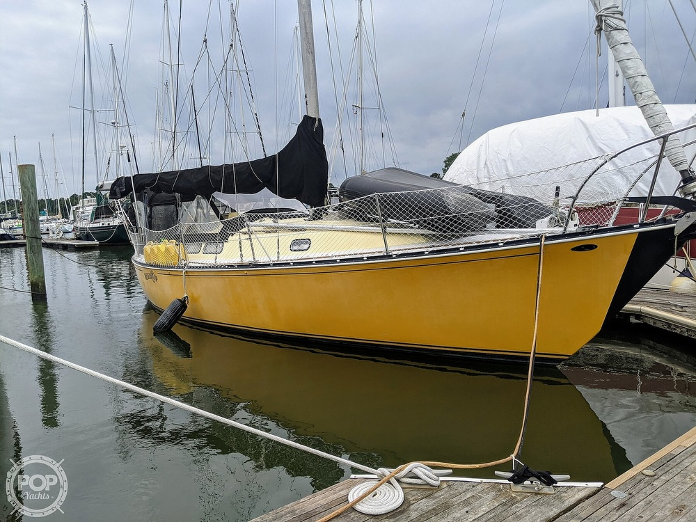 1974 C & C boat for sale, model of the boat is 35 Mark II & Image # 11 of 40