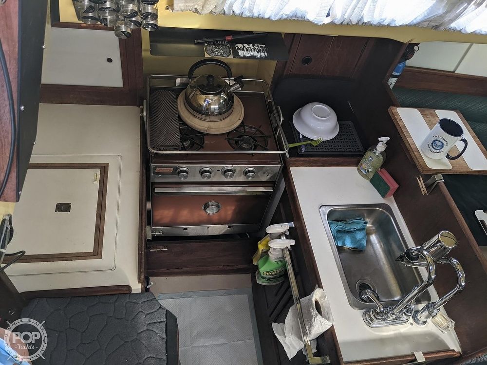 1974 C & C boat for sale, model of the boat is 35 Mark II & Image # 14 of 40