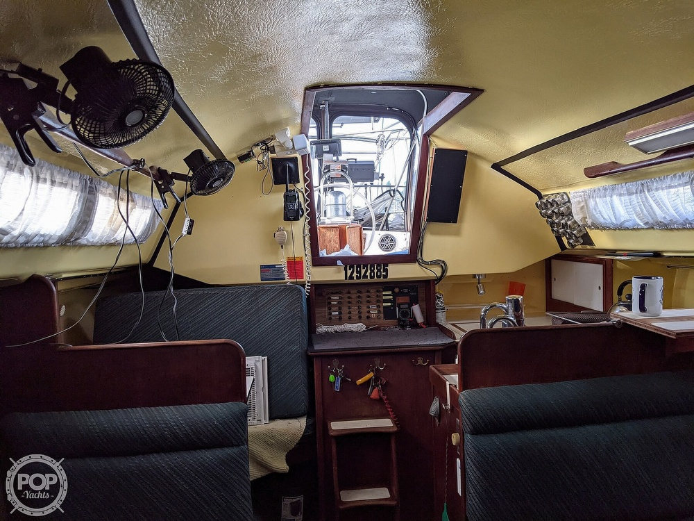 1974 C & C boat for sale, model of the boat is 35 Mark II & Image # 16 of 40