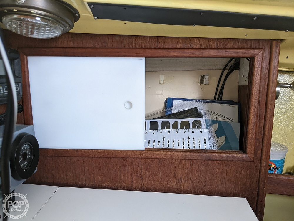 1974 C & C boat for sale, model of the boat is 35 Mark II & Image # 31 of 40