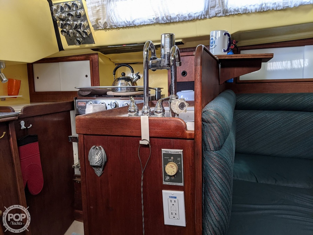 1974 C & C boat for sale, model of the boat is 35 Mark II & Image # 34 of 40