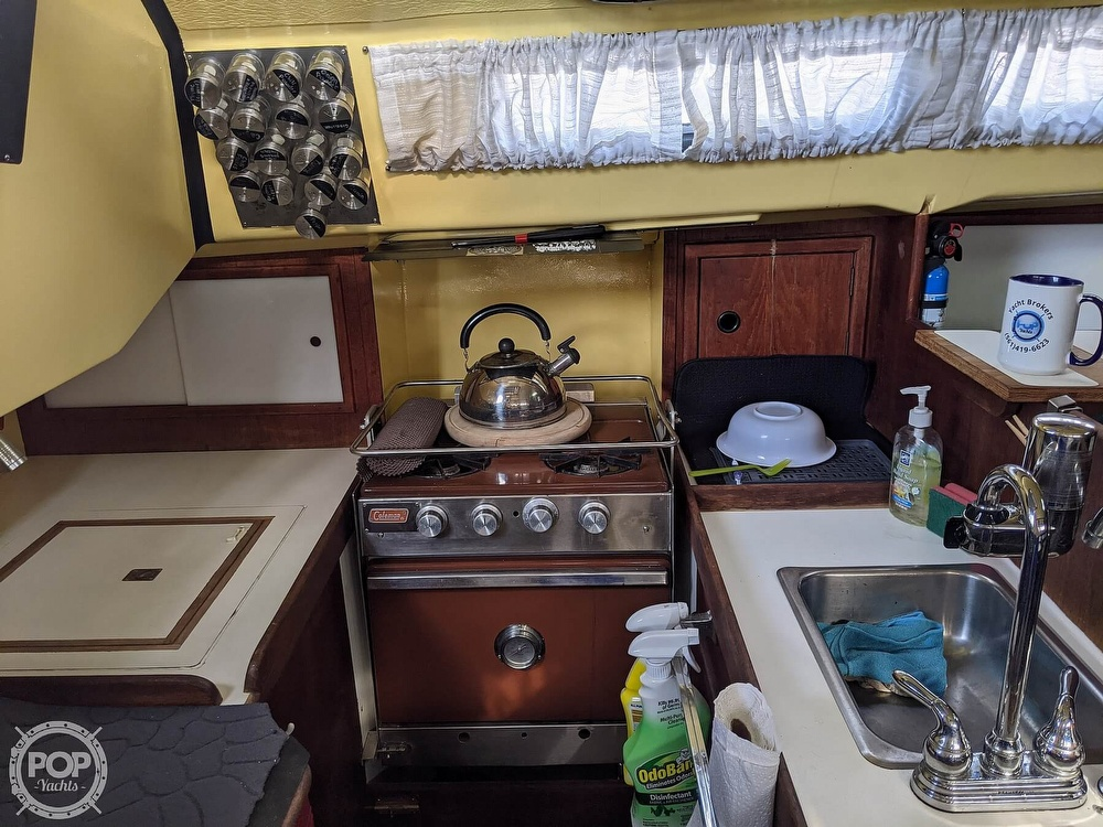 1974 C & C boat for sale, model of the boat is 35 Mark II & Image # 39 of 40