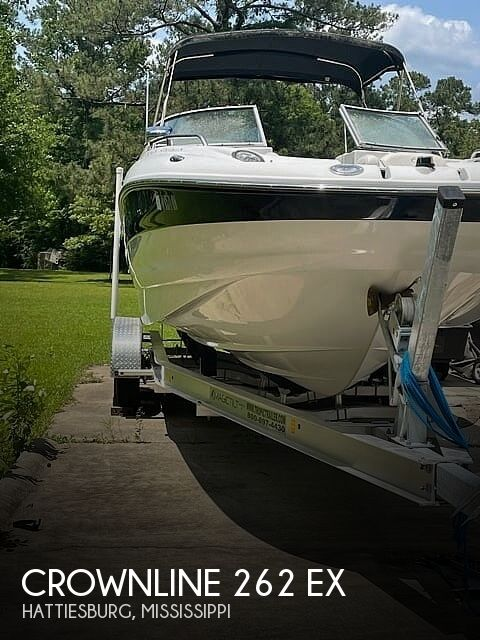 2006 Crownline boat for sale, model of the boat is 262 ex & Image # 1 of 40