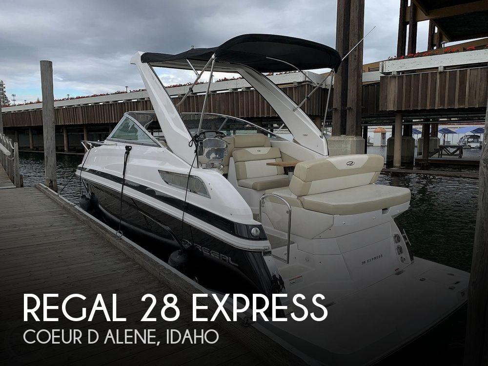 2012 Regal boat for sale, model of the boat is 28 Express & Image # 1 of 40