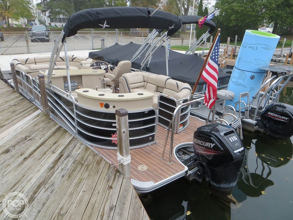 2016 Berkshire Pontoons boat for sale, model of the boat is 25E STS & Image # 3 of 40