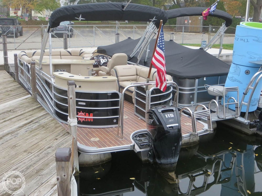 2016 Berkshire Pontoons boat for sale, model of the boat is 25E STS & Image # 18 of 40