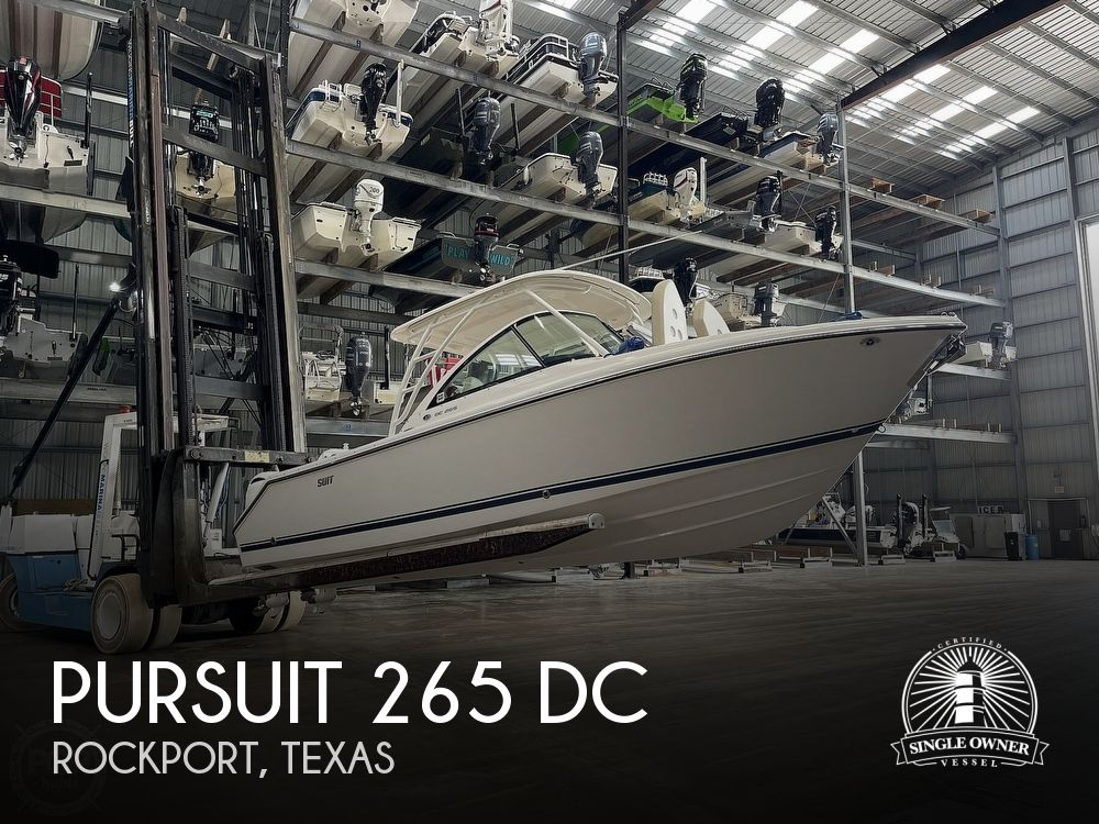 2016 Pursuit boat for sale, model of the boat is 265 DC & Image # 1 of 40