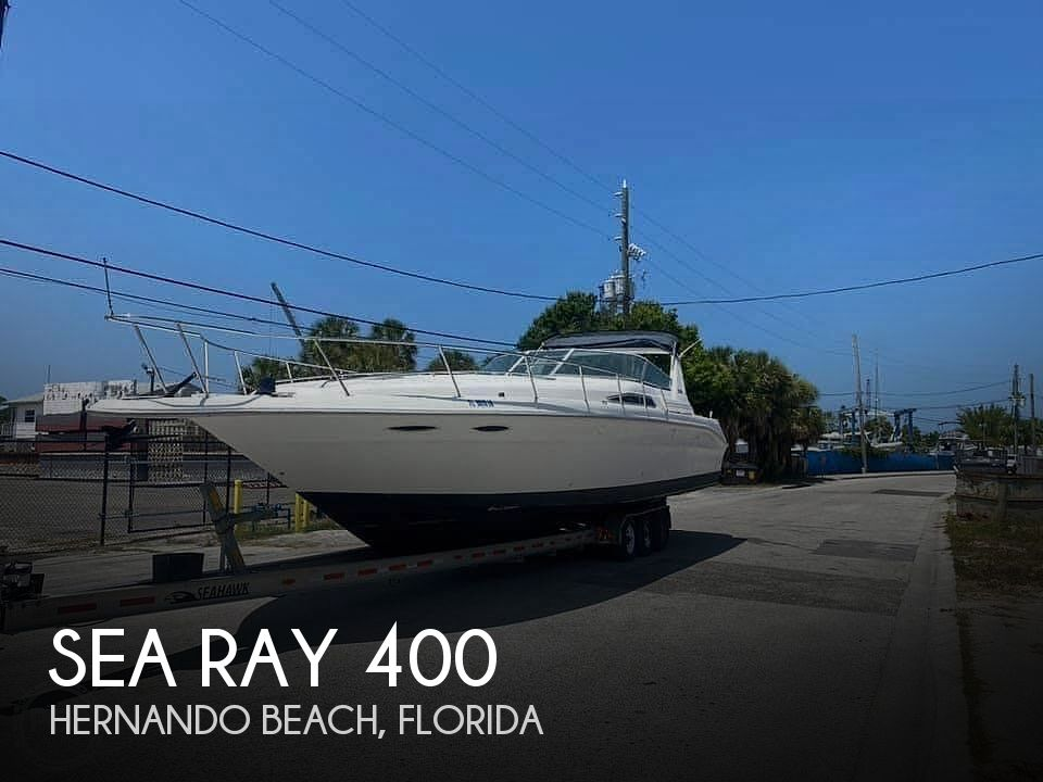 1992 Sea Ray boat for sale, model of the boat is 400 Express Cruiser & Image # 1 of 14