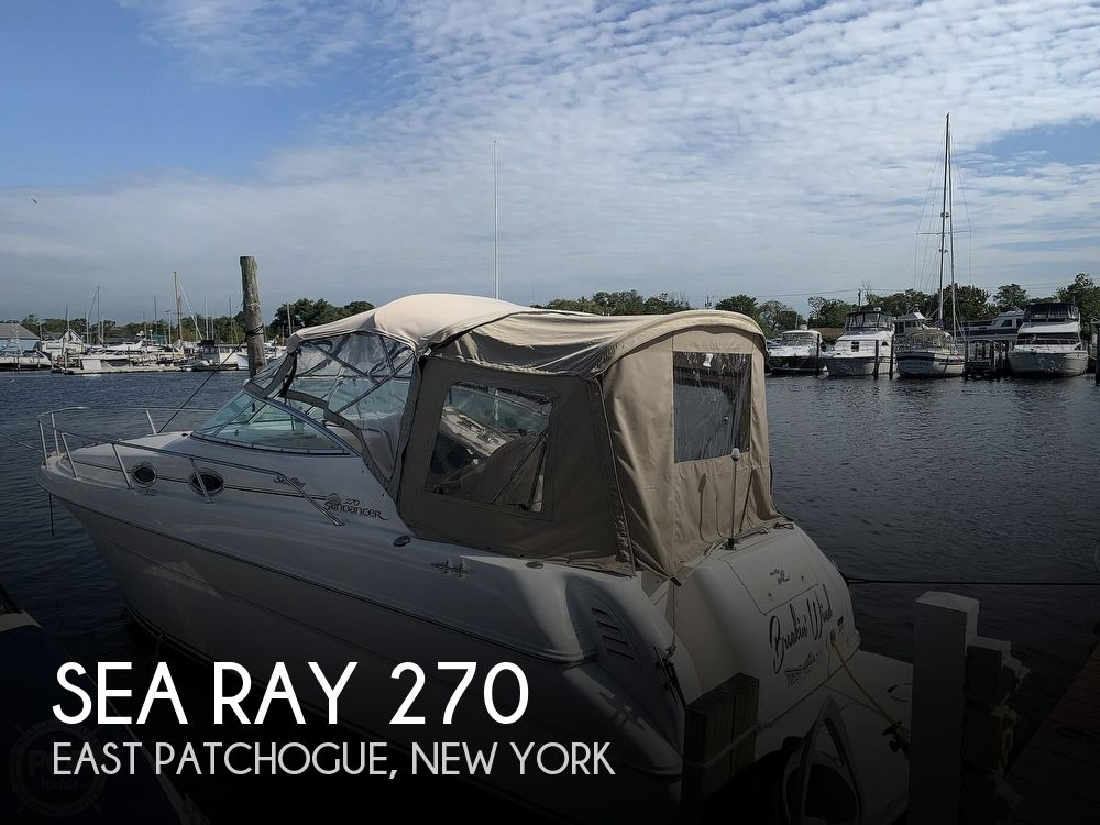 2000 Sea Ray boat for sale, model of the boat is 270 Sundancer & Image # 1 of 40