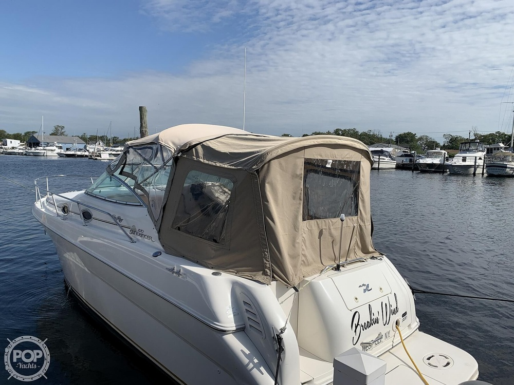 2000 Sea Ray boat for sale, model of the boat is 270 Sundancer & Image # 3 of 40
