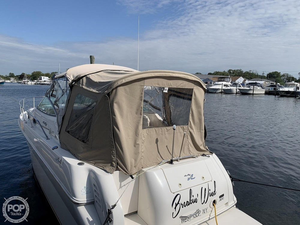 2000 Sea Ray boat for sale, model of the boat is 270 Sundancer & Image # 5 of 40
