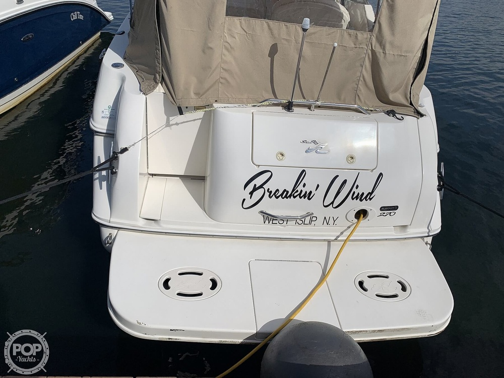 2000 Sea Ray boat for sale, model of the boat is 270 Sundancer & Image # 7 of 40