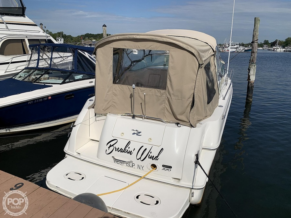 2000 Sea Ray boat for sale, model of the boat is 270 Sundancer & Image # 9 of 40