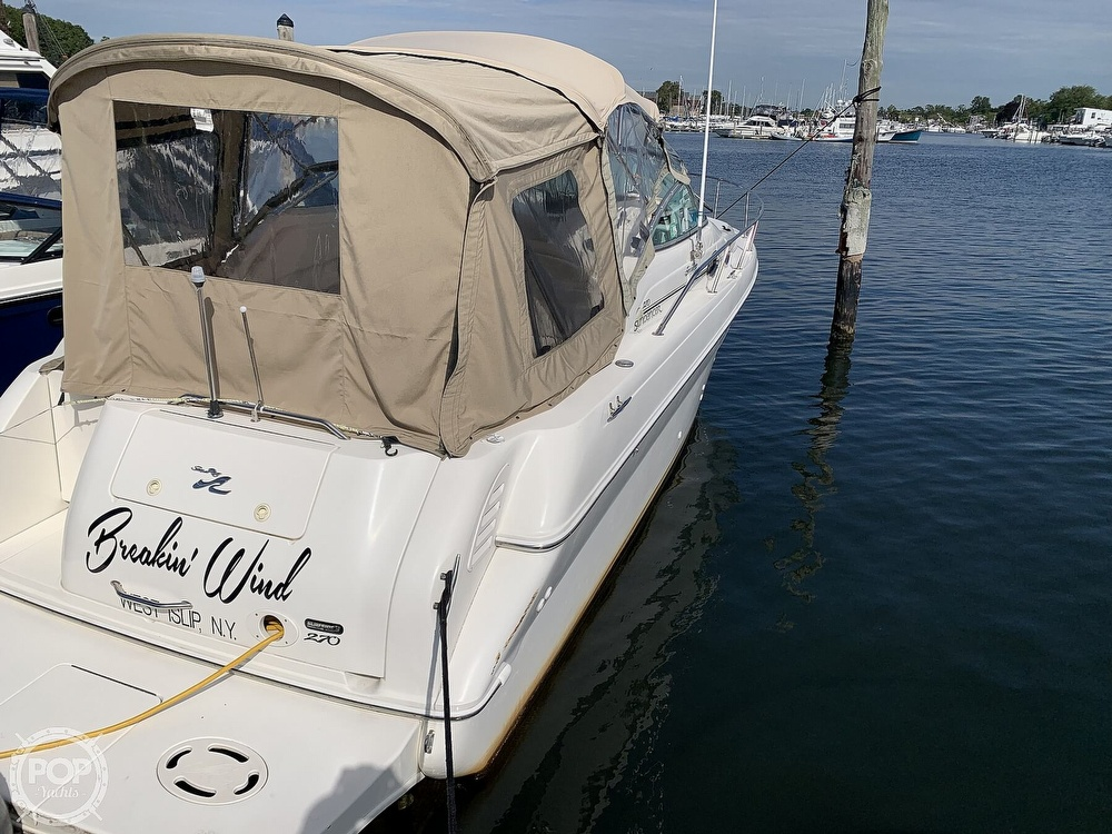 2000 Sea Ray boat for sale, model of the boat is 270 Sundancer & Image # 10 of 40