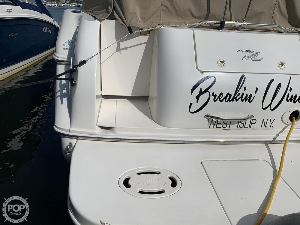 2000 Sea Ray boat for sale, model of the boat is 270 Sundancer & Image # 11 of 40