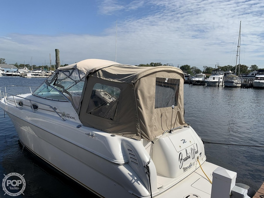 2000 Sea Ray boat for sale, model of the boat is 270 Sundancer & Image # 15 of 40