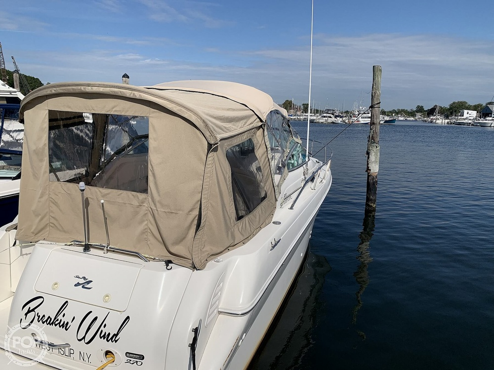 2000 Sea Ray boat for sale, model of the boat is 270 Sundancer & Image # 17 of 40
