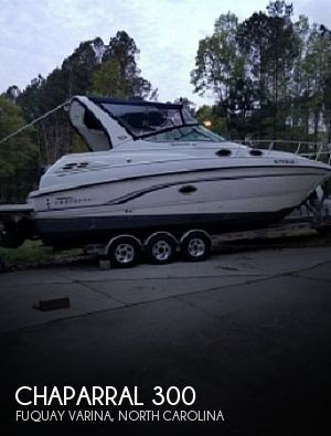 1999 Chaparral boat for sale, model of the boat is Signature 300 & Image # 1 of 40