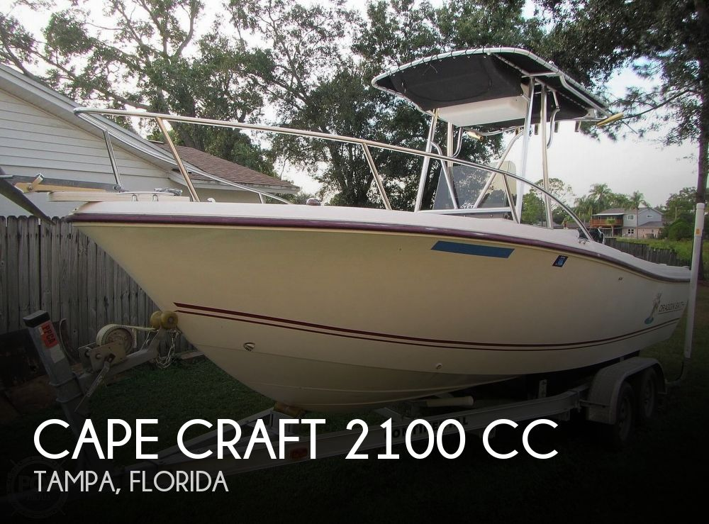 2002 Cape Craft boat for sale, model of the boat is 2100 CC & Image # 1 of 40