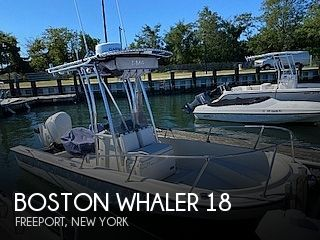 1987 Boston Whaler boat for sale, model of the boat is 18 Outrage & Image # 1 of 11