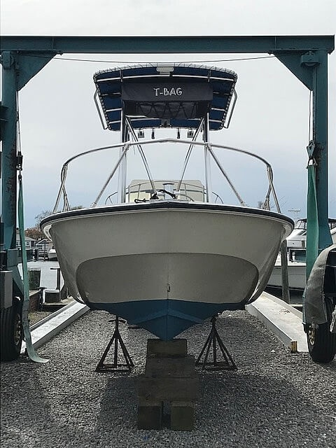 1987 Boston Whaler boat for sale, model of the boat is 18 Outrage & Image # 6 of 11