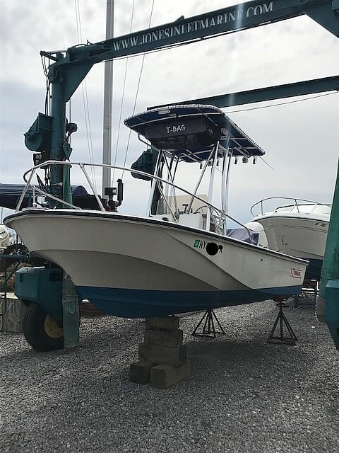 1987 Boston Whaler boat for sale, model of the boat is 18 Outrage & Image # 7 of 11