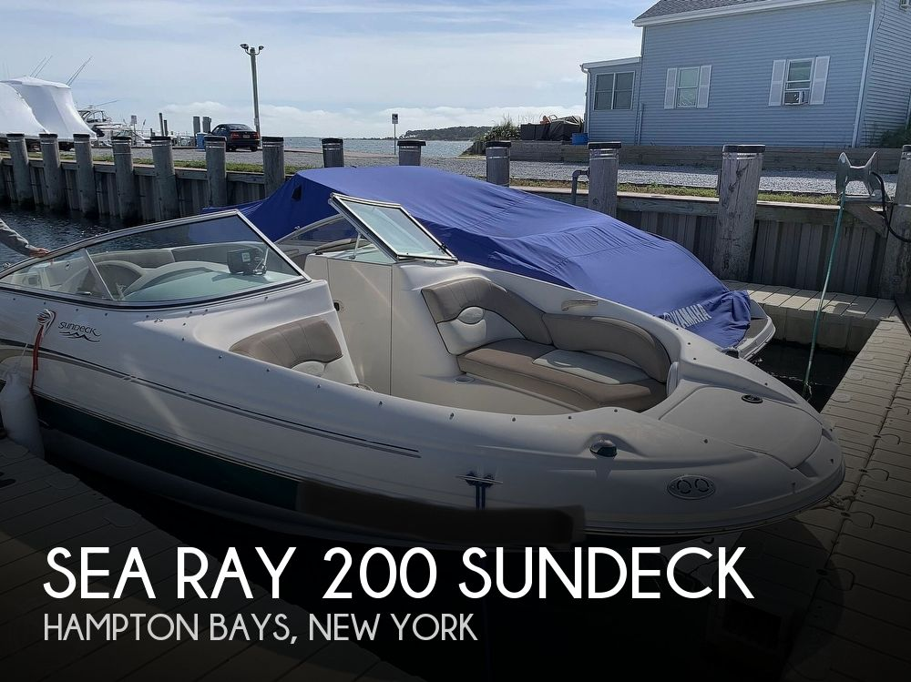 2004 Sea Ray boat for sale, model of the boat is 200 Sundeck & Image # 1 of 40