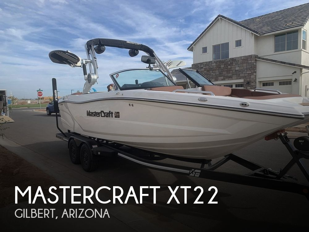 2019 Mastercraft boat for sale, model of the boat is XT22 & Image # 1 of 40