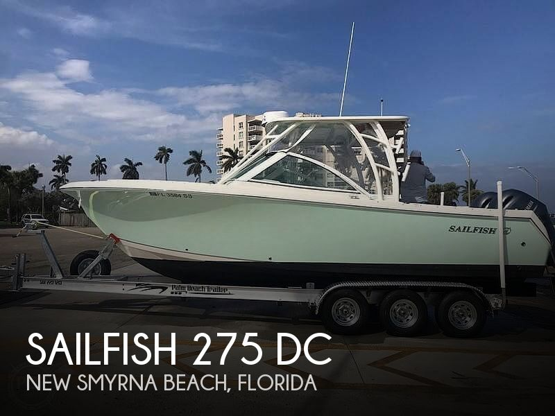 2020 Sailfish boat for sale, model of the boat is 275 DC & Image # 1 of 6