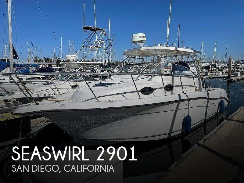 2006 Seaswirl boat for sale, model of the boat is Striper 2901 Sedan Sport Fisherman Hardtop & Image # 1 of 40