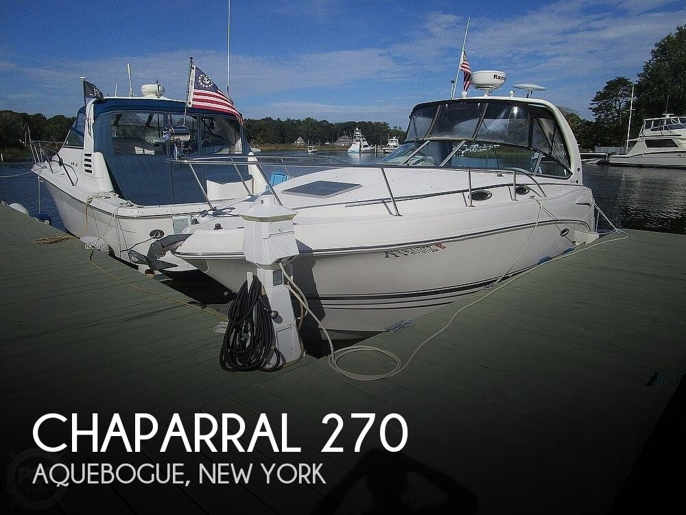 2003 Chaparral boat for sale, model of the boat is 270 Signature & Image # 1 of 40