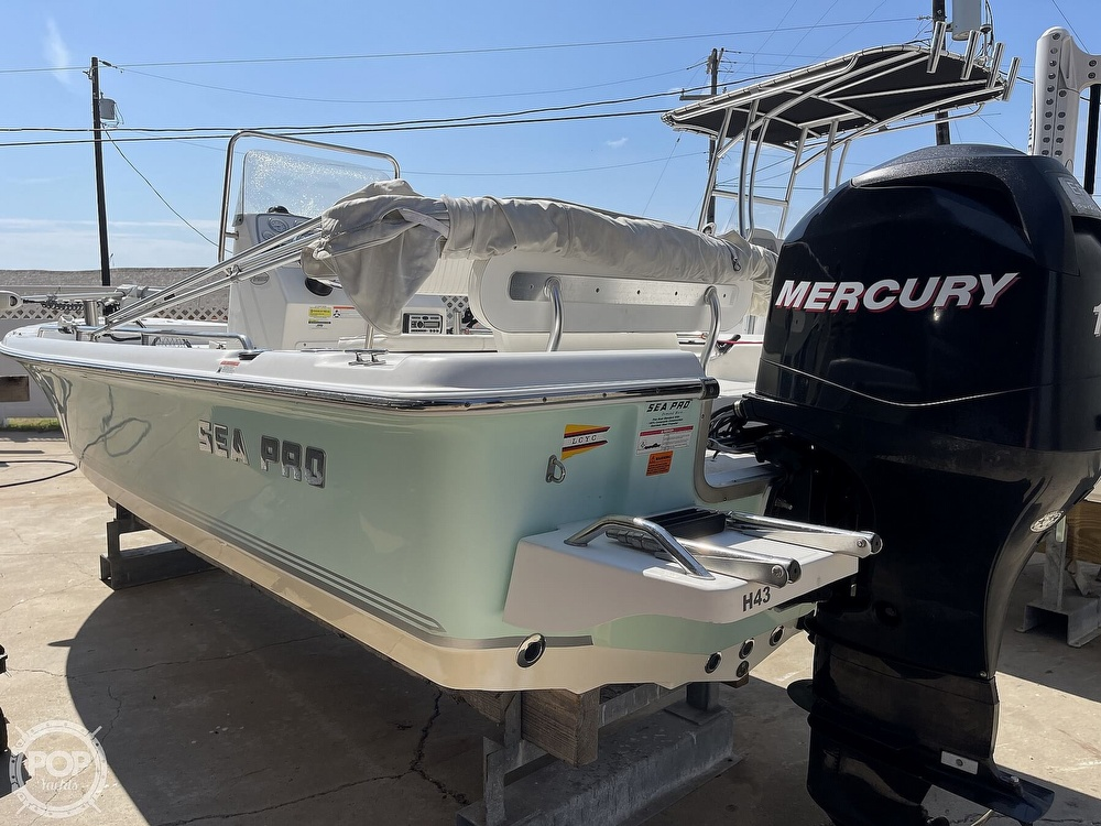 2008 Sea Pro boat for sale, model of the boat is SV1900 & Image # 9 of 40