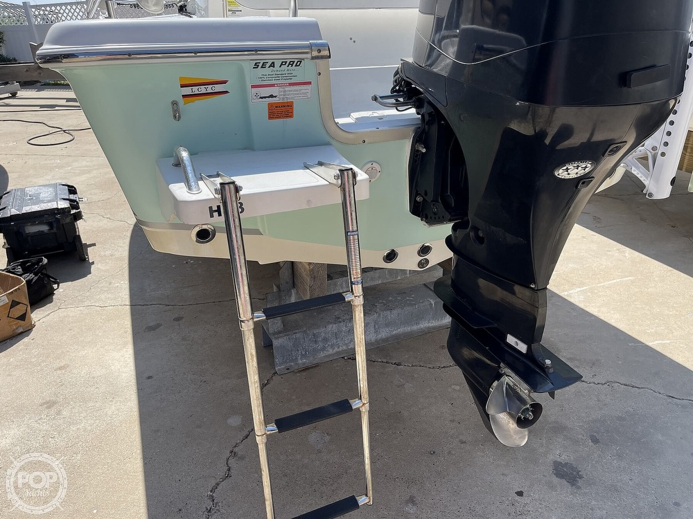 2008 Sea Pro boat for sale, model of the boat is SV1900 & Image # 18 of 40