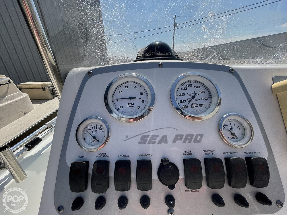 2008 Sea Pro boat for sale, model of the boat is SV1900 & Image # 3 of 40