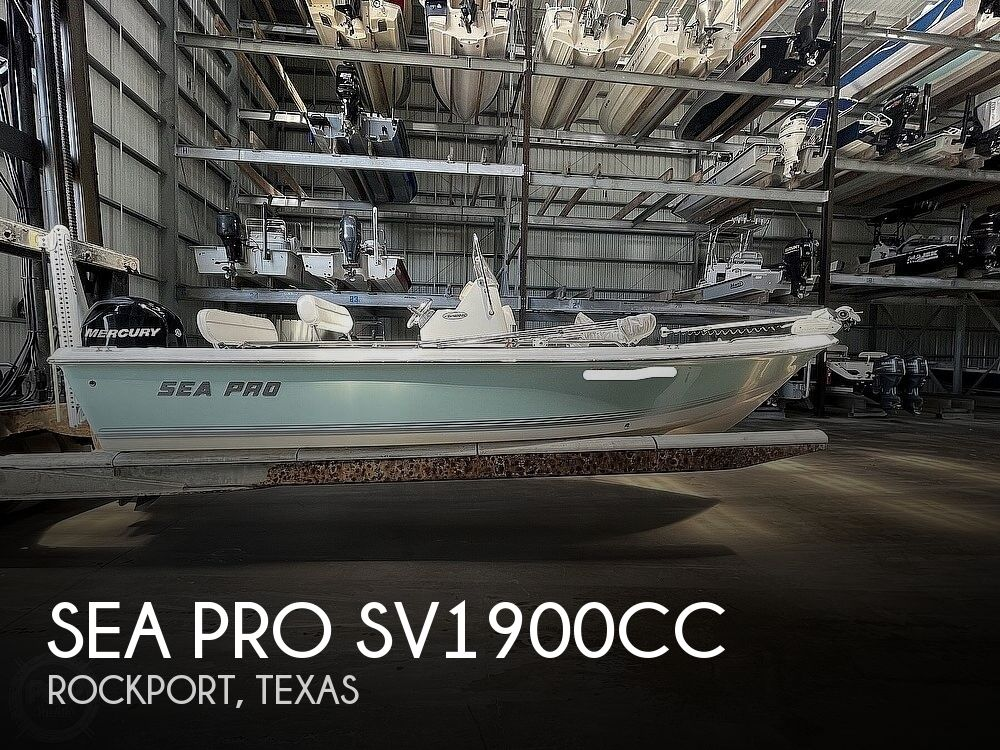 2008 Sea Pro boat for sale, model of the boat is SV1900 & Image # 1 of 40