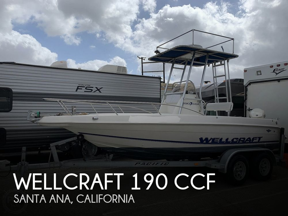 1996 Wellcraft boat for sale, model of the boat is 190 & Image # 1 of 40