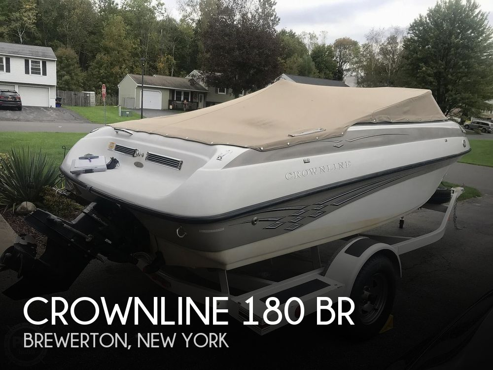 2005 Crownline boat for sale, model of the boat is 180 BR & Image # 1 of 40