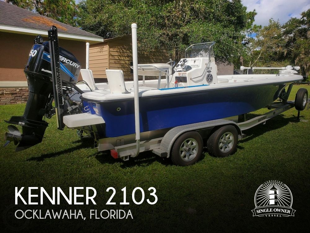 2008 Kenner boat for sale, model of the boat is 2103 Tunnel & Image # 1 of 40