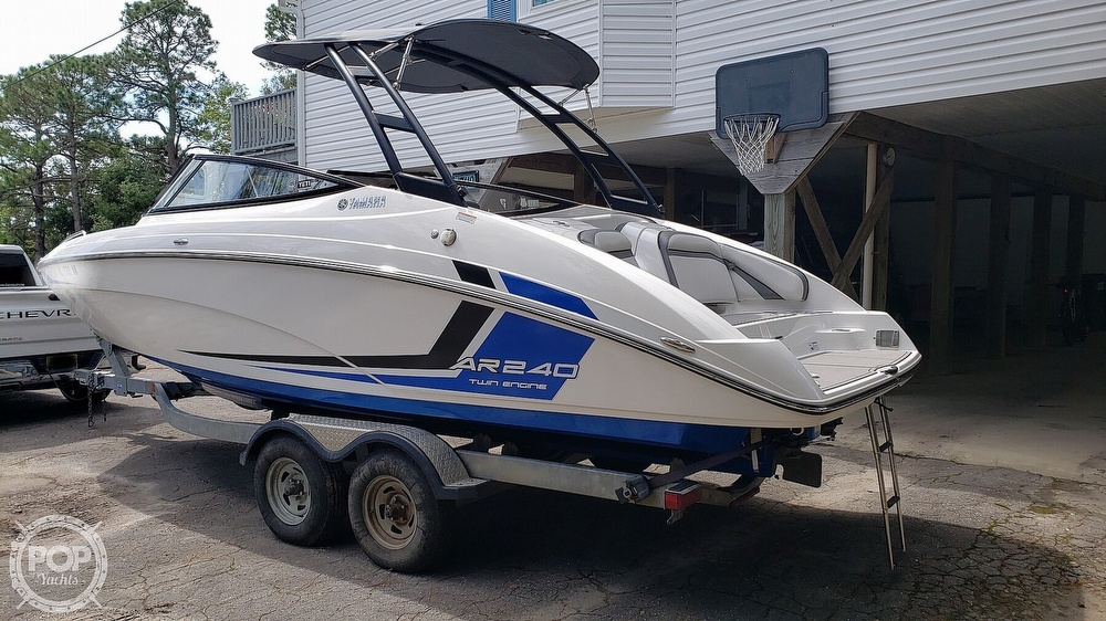 2018 Yamaha boat for sale, model of the boat is AR240 & Image # 2 of 40