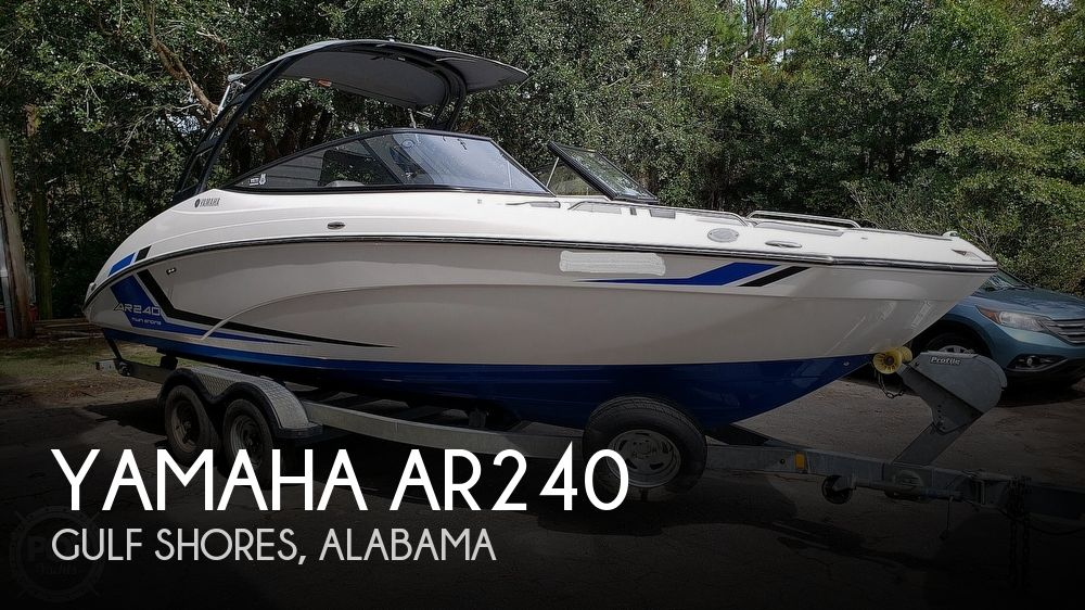 2018 Yamaha boat for sale, model of the boat is AR240 & Image # 1 of 40