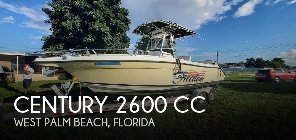 2005 Century boat for sale, model of the boat is 2600 CC & Image # 1 of 40
