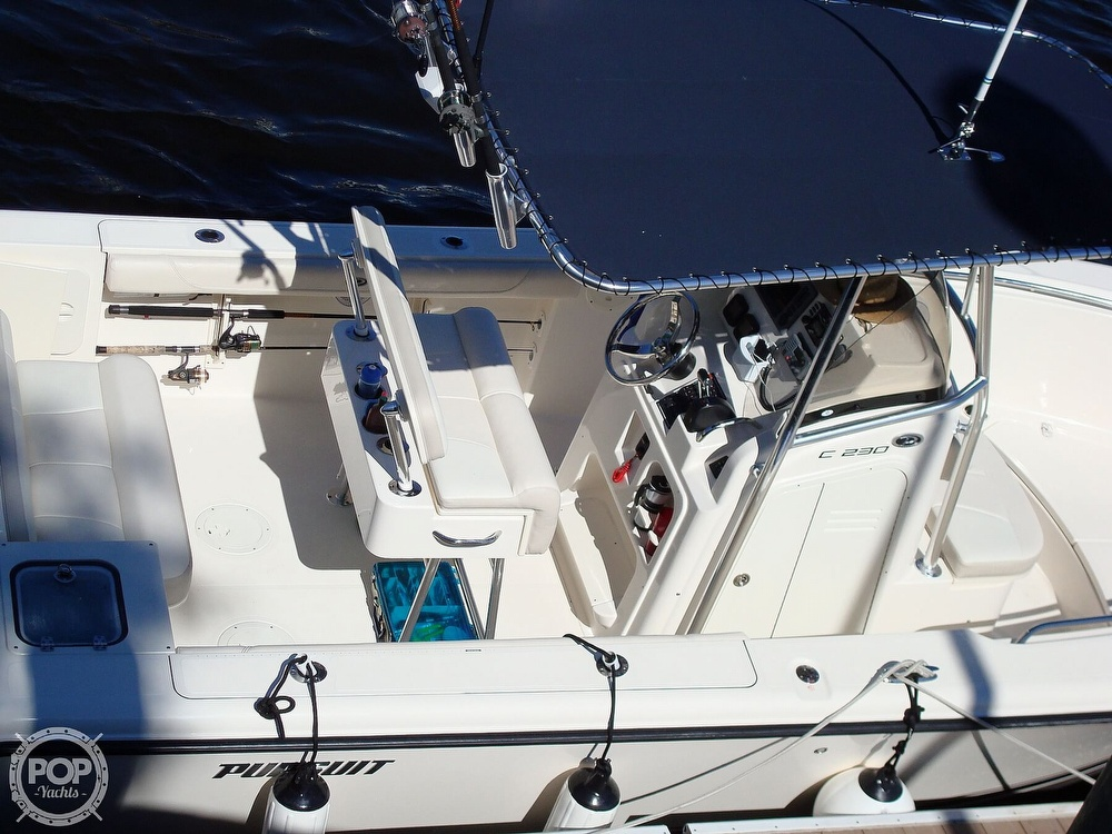 2011 Pursuit boat for sale, model of the boat is C230 & Image # 3 of 40