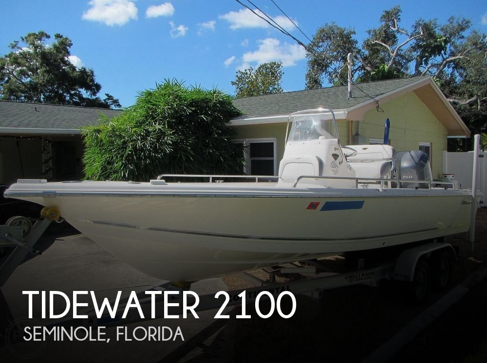 2015 Tidewater boat for sale, model of the boat is 2100 Bay Max & Image # 1 of 40