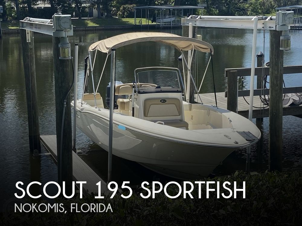 2015 Scout boat for sale, model of the boat is 195 Sportfish & Image # 1 of 40
