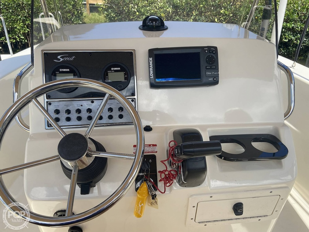 2015 Scout boat for sale, model of the boat is 195 Sportfish & Image # 8 of 40