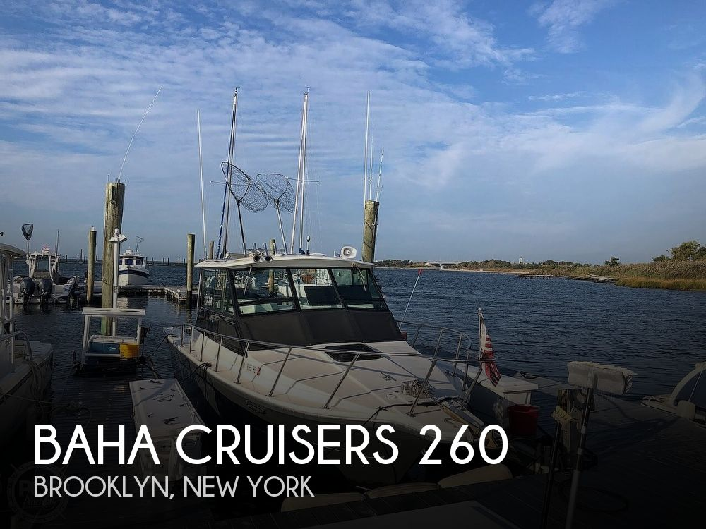 1991 Baha Cruisers boat for sale, model of the boat is 260 Weekender & Image # 1 of 40