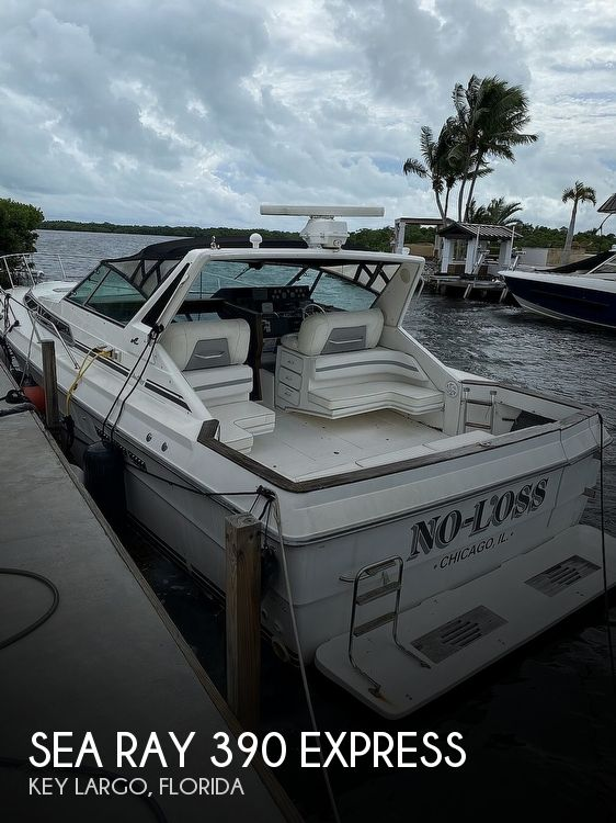 1989 Sea Ray boat for sale, model of the boat is 390 Express & Image # 1 of 27