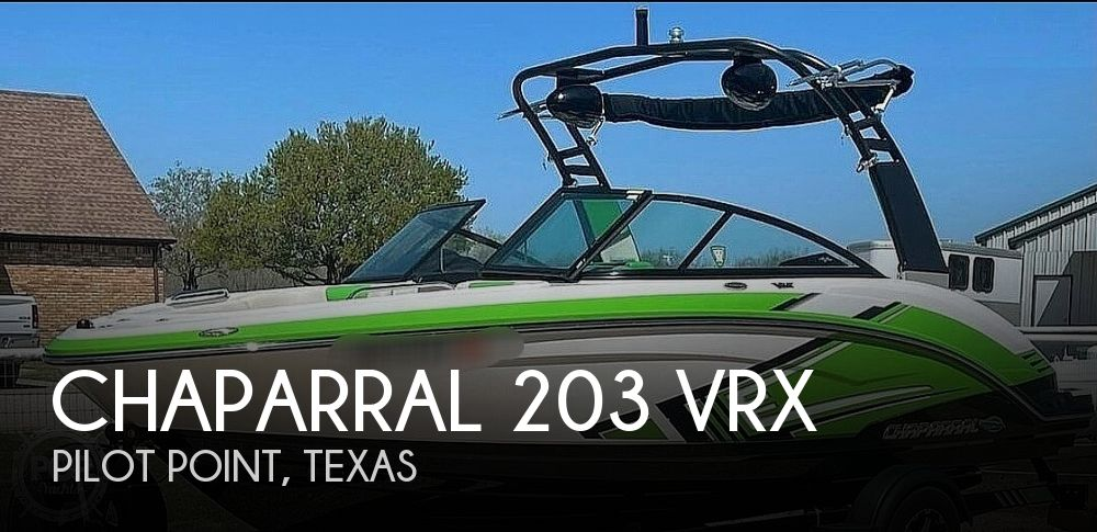 2017 Chaparral boat for sale, model of the boat is 203 VRX & Image # 1 of 40
