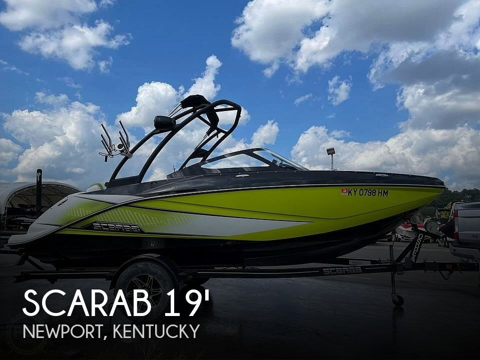 2014 Scarab boat for sale, model of the boat is 195 Ho Impulse & Image # 1 of 20