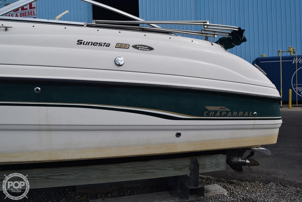 1999 Chaparral boat for sale, model of the boat is 233 Sunesta Limited Edition & Image # 10 of 40